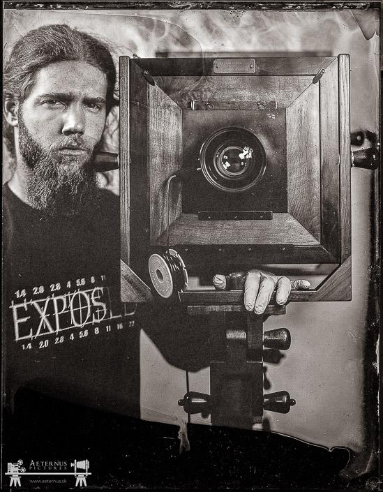 Historický mokrý kolódiový fotografický proces z roku 1851 - Aeternus Pictures